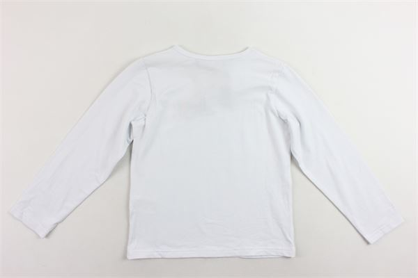 shirt manica lunga tinta unita con stampa IM?ERFECT   Shirts   2241M0059BBIANCO