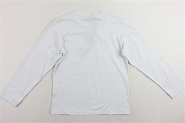 shirt manica lunga tinta unita stampa paillettes IM?ERFECT   Shirts   2241M0094BBIANCO