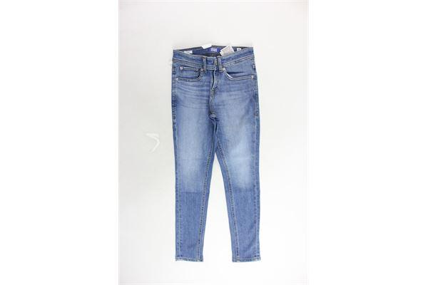 jeans 5 tasche tinta unita JACK&JONES | Jeans | 12149937AZZURRO