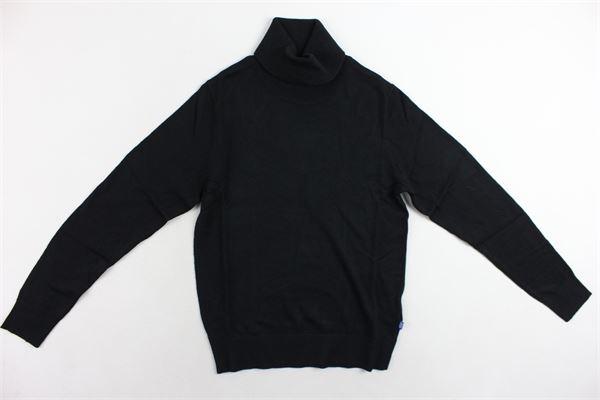 maglione collo alto tinta unita JACK&JONES | Maglie | 12166561NERO
