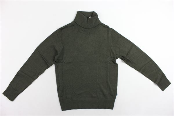 maglione collo alto tinta unita JACK&JONES | Maglie | 12166561VERDE MILITARE