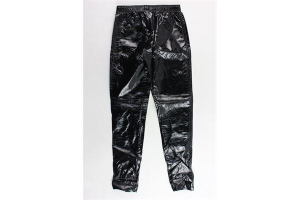 pantalone in ecopelle con zip laterale JIJIL | Pantaloni | JJI18PA620NERO