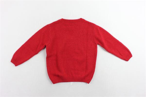 maglione girocollo tinta unita J.O. MILANO | Maglie | 863Z3ROSSO