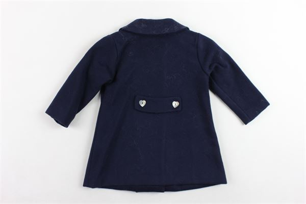 cappotto lungo tinta unita J.O. MILANO | Giubbini | 867X2/BLUBLU