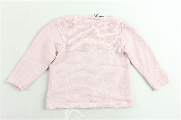 cardigan in lana tinta unita J.O. MILANO | Maglie | 963X8ROSA