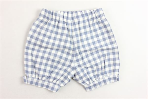 shorts elastico in vita fantasia a quadri J.O. MILANO | Shorts | 964B2BIANCO