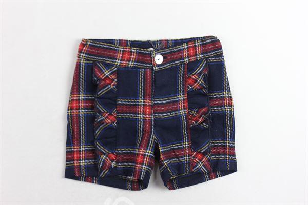 short fantasia scozzese con rouches J.O. MILANO | Shorts | 964E5BLU
