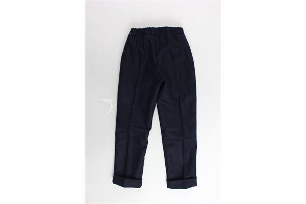 pantalone tinta unita tasca america J.O. MILANO | Pantaloni | 964Z2BLU