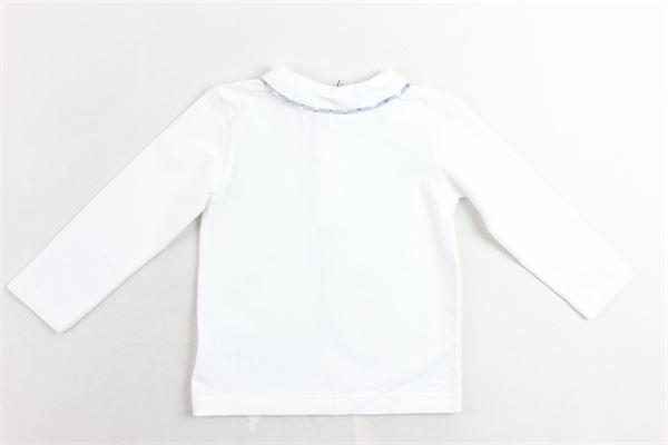 polo manica lunga tinta unita cotone caldo J.O. MILANO | Polo | 966B1BIANCO