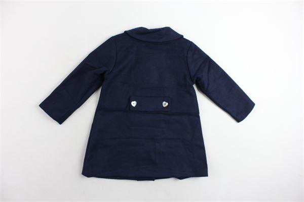 cappotto lungo tinta unita J.O. MILANO | Giubbini | 967X2BLU
