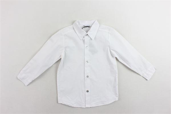 camicia manica lunga tinta unita J.O. MILANO | Camicie | 976Z1BIANCO