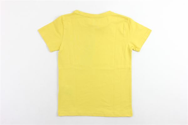 t-shirt mezza manica tinta unita con stampa JOHN RICHMOND | T-shirts | RBA19074TSGIALLO