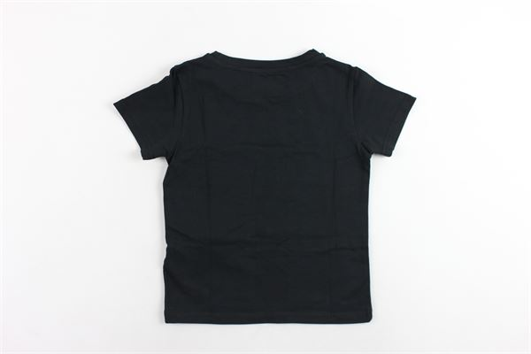 t-shirt mezza manica tinta unita con stampa JOHN RICHMOND | T-shirts | RBA19074TSNERO