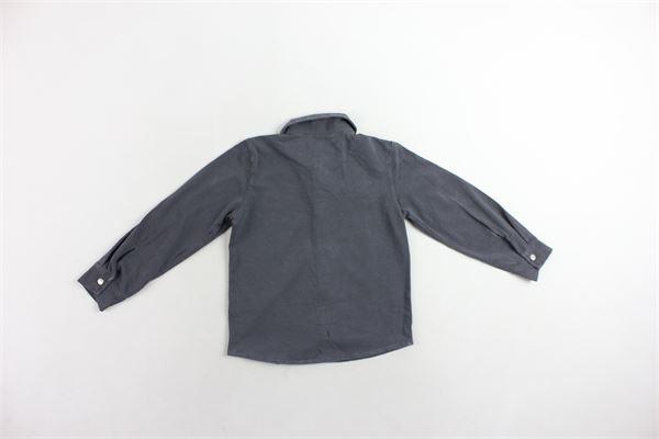 camicia manica lunga tinta unita JUPPALA' | Camicie | 346E2GRIGIO