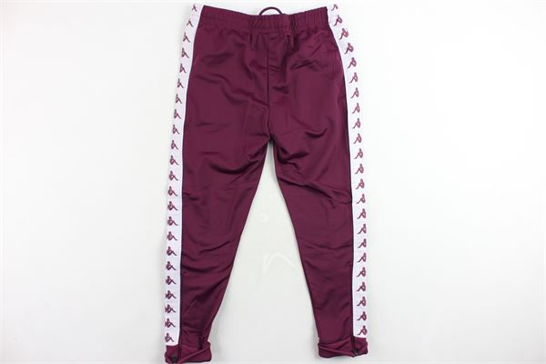 pantalone tuta triacetato tinta unita profili kappa KAPPA | Pantaloni | 303KCU00VIOLA