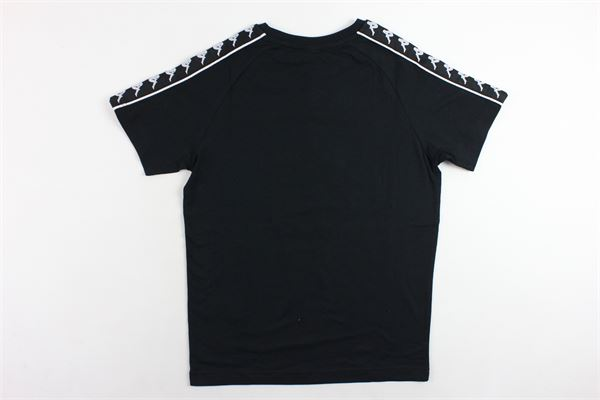 t-shirt mezza manica tinta unita bande kappa KAPPA   T-shirts   303UV10DNERO
