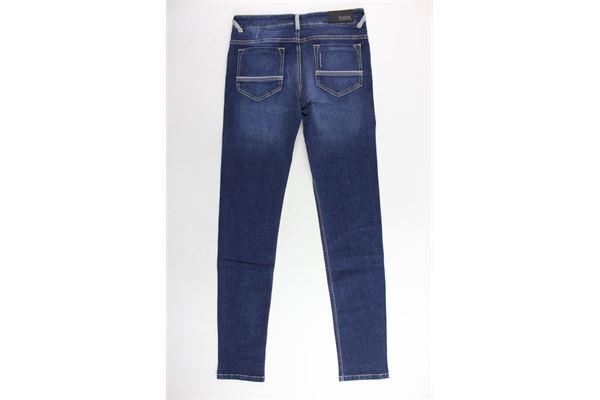 jeans tinta unita 5 tasche KARL LAGERFELD | Jeans | Z24035Z00BLU