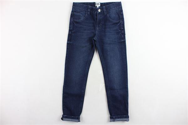 jeans 5 tasche tinta unita girovita regolabile KARL LAGERFELD | Jeans | Z24074ZB2BLU