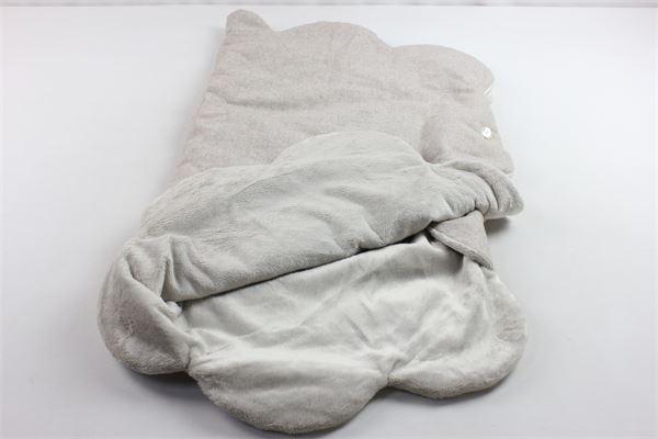 coperta con bottoni in pelliccia sintetica LA STUPENDERIA | Coperte | LACU10A32-W20BEIGE