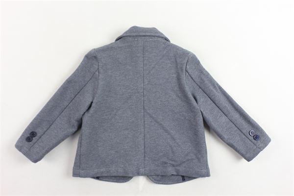 giacca tinta unita con logo LE BEBE' | Giacche | LBB1459GRIGIO