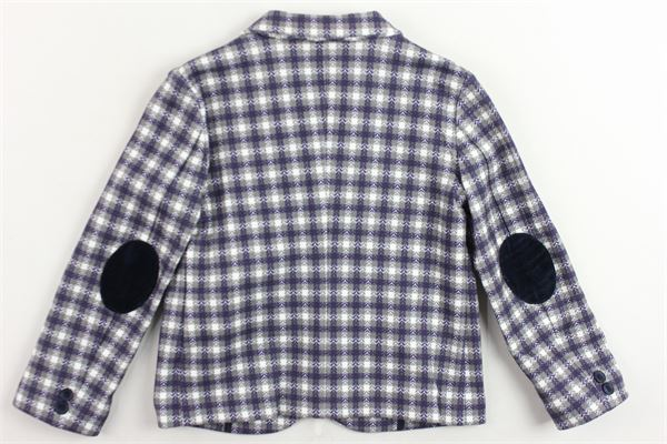 giacca microfantasia con toppe LE BEBE' | Giacche | LBB2280GRIGIO