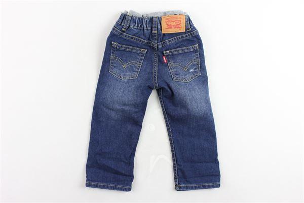 jeans 5 tasche tinta unita elastico in vita LEVI'S | Jeans | 6E7319-M3MBLU