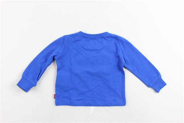 shirt manica lunga tinta unita con stampa LEVI'S   Shirts   6E8646-023COBALTO