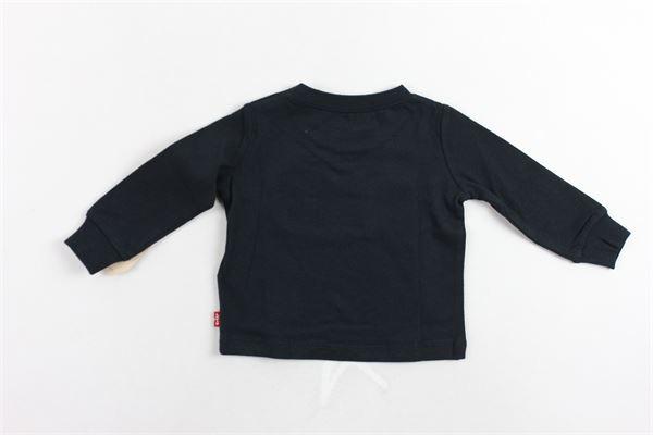 shirt manica lunga tinta unita con stampa LEVI'S   Shirts   6E8646-023NERO