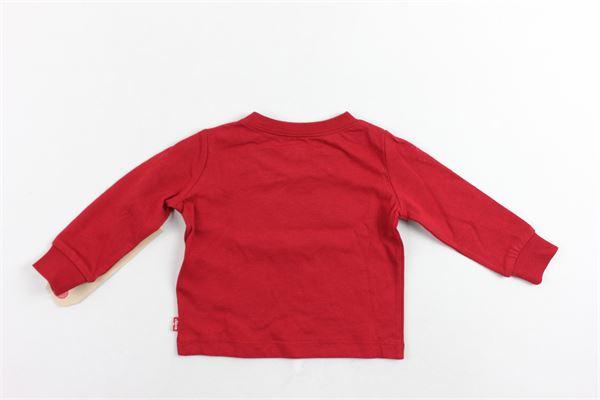 shirt manica lunga tinta unita con stampa LEVI'S   Shirts   6E8646-023ROSSO