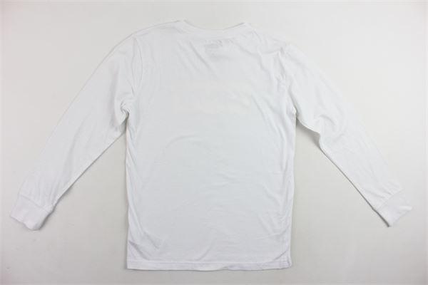 shirt manica lunga tinta unita con stampa LEVI'S   Shirts   9E8646-001BIANCO