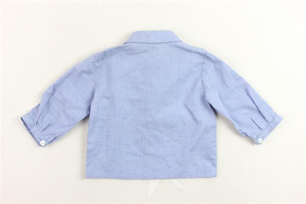 camicia manica lunga tinta unita LITTLE BEAR | Camicie | 2134CELESTE
