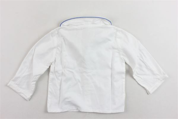 camicia manica lunga tinta unita LITTLE BEAR | Camicie | 4123.2BIANCO