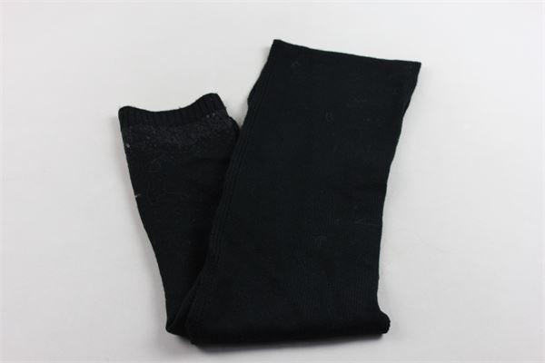 sciarpa tinta unita con paillettes LIU JO | Sciarpe | G65048MA143NERO