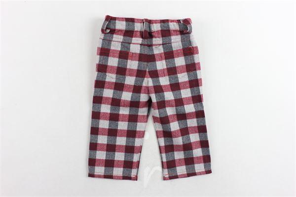 pantalone fantasia a quadri MAGIL   Pantaloni   TM15151ROSSO