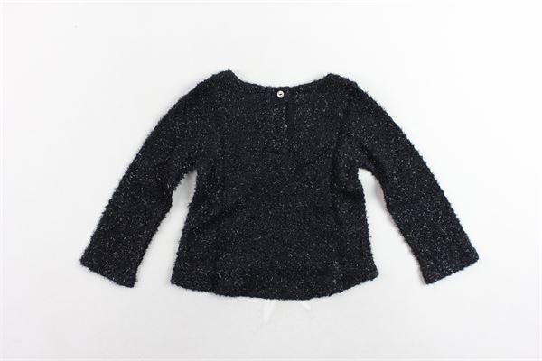 maglia tinta unita in lurex MAGIL   Maglie   TM21035NERO
