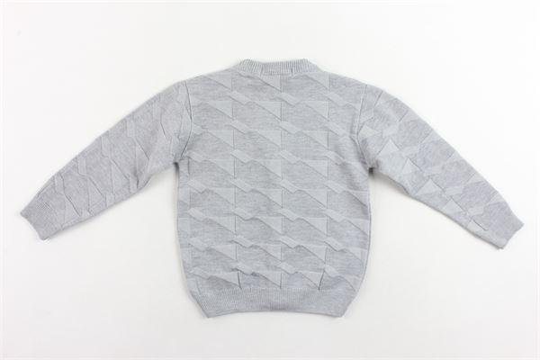 cardigan manica lunga tinta unita MANUEL & FRANK | Maglie | MF4008BGRIGIO