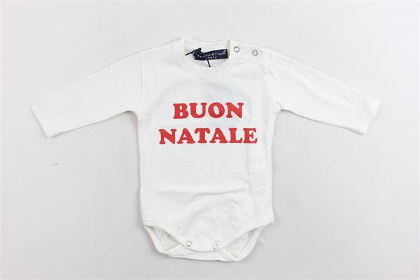 shirt body manic alunga tinta unita con stampa MANUEL & FRANK | Shirts | MF7016IBIANCO
