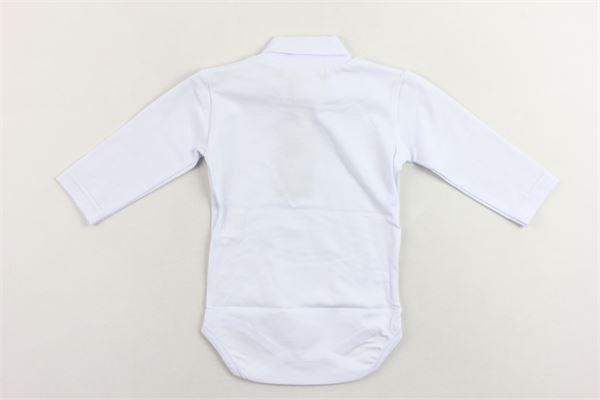 shirt body mezzo collo tinta unita MANUEL & FRANK | Shirts | MF7017IBIANCO