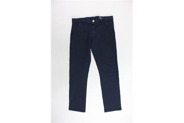 MANUEL RITZ   Trousers   MR0405BLU