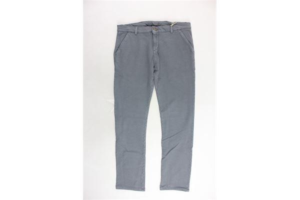 MANUEL RITZ   Trousers   MR0405GRIGIO