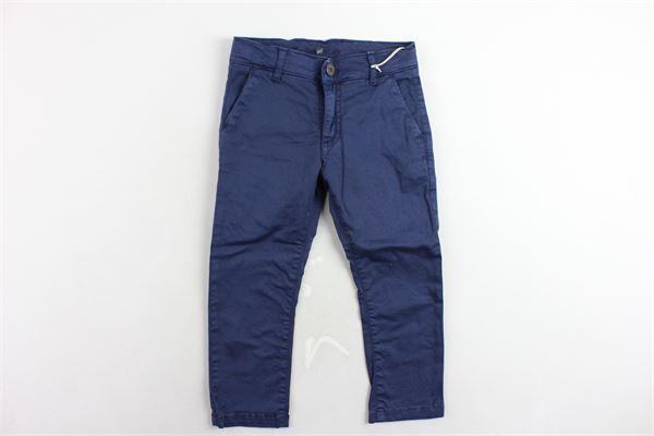 pantaloni tasca america tinta unita MANUEL RITZ | Pantaloni | MR0410BLU
