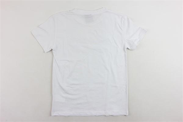 t-shirt mezza manica tinta unita stampa brillantini MARC ELLIS | T-shirts | JMETS596BIANCO