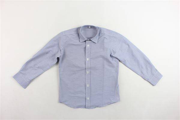 camicia manica lunga rigata MARIELLA FERRARI | Camicie | BOYB2BISMLBLU