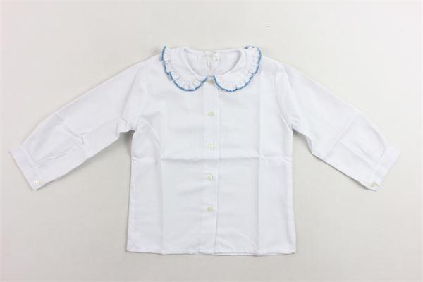 camicia manica lunga tinta unita MARIELLA FERRARI | Camicie | CMH8MLP013BIANCO