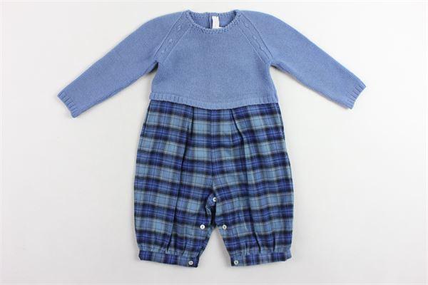 pagliacetto manica lunga in lana MARIELLA FERRARI | Pagliaccetti | MGH8BLU