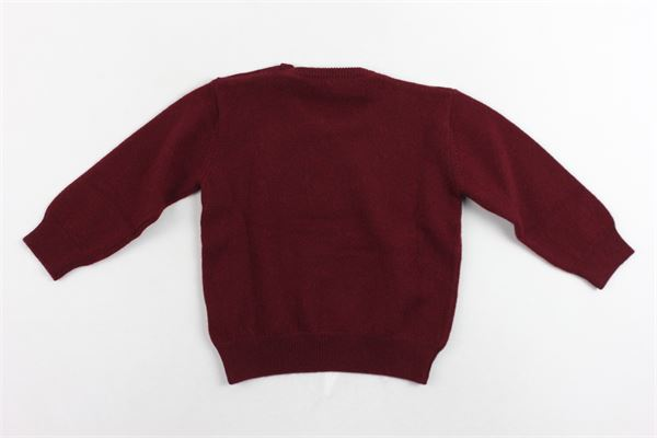 maglione girocollo tinta unita MARIELLA FERRARI | Maglie | MGS17BORDEAU
