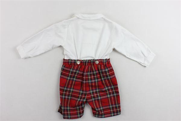 completo camicia più pantalone scozzese MARIELLA FERRARI | Completi | PG19BISBIANCO