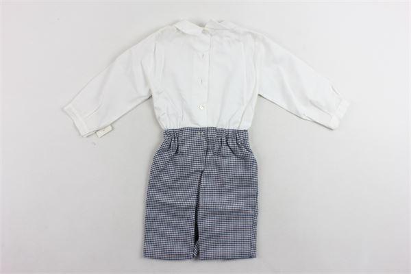 completo camicia più pantalone in lana  micronfatasia MARIELLA FERRARI | Completi | PGB2BIANCO