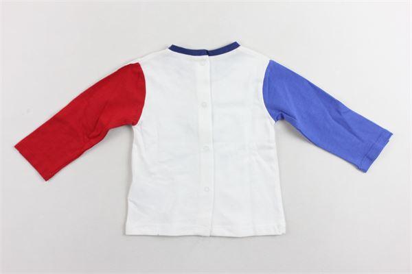 completo due shirts manica lunga tinta unita con stampa MAYORAL   Completi   20066BIANCO