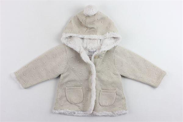 cappotto in lurex con imbottitura in pelliccia sintetica MAYORAL | Giubbini | 2304ORO